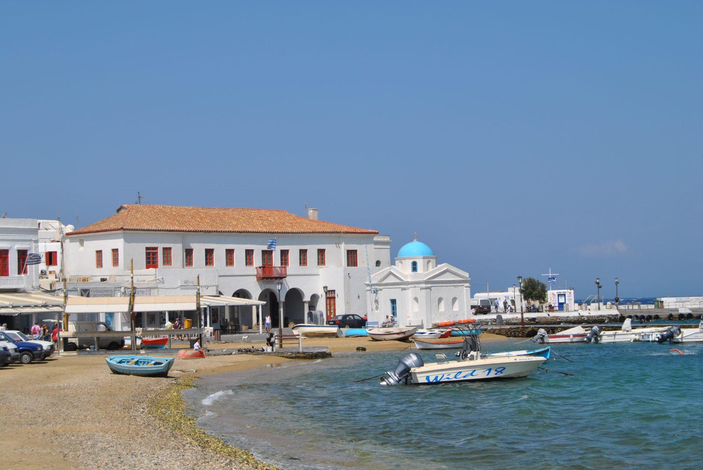 Puerto antiguo de Mykonos