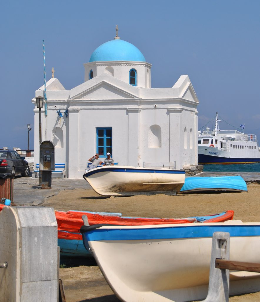 Iglesia de San Nicolás Mykonos