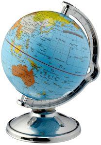 hucha bola del mundo. regalar a viajeros