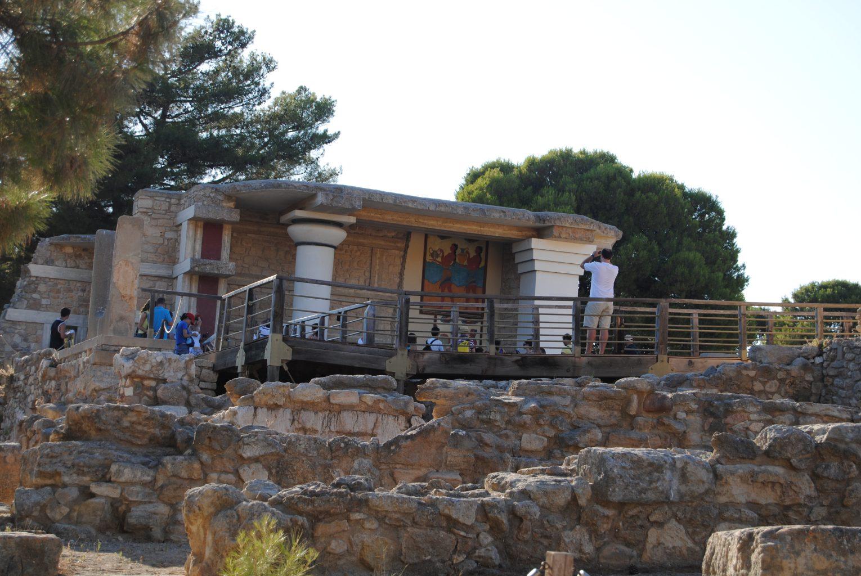 Corredor Procesional. El palacio de Knossos