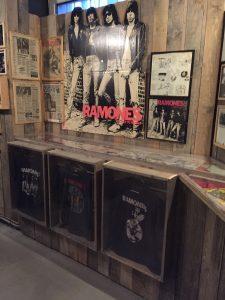 Interior del museo. Ramones Museum Berlin