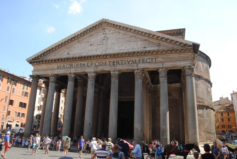 Panteón.qué ver en Roma