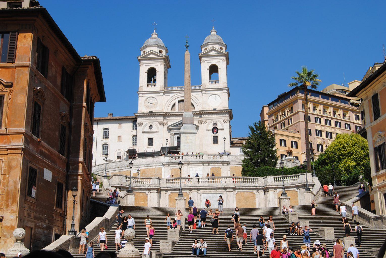 Plaza de España. qué ver en Roma