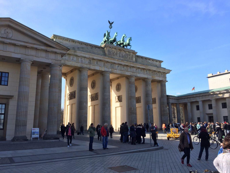 Puerta de Brandeburgo. qué ver en Berlín