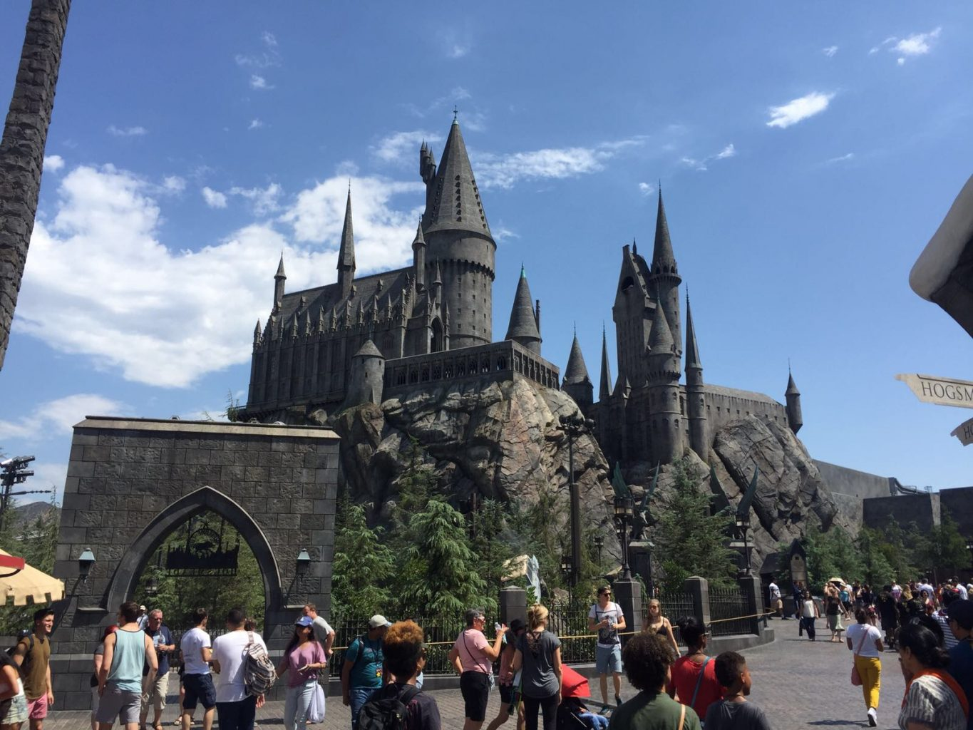 Hogwarts en El Mundo mágico de Harry Potter Universal Studios Hollywood