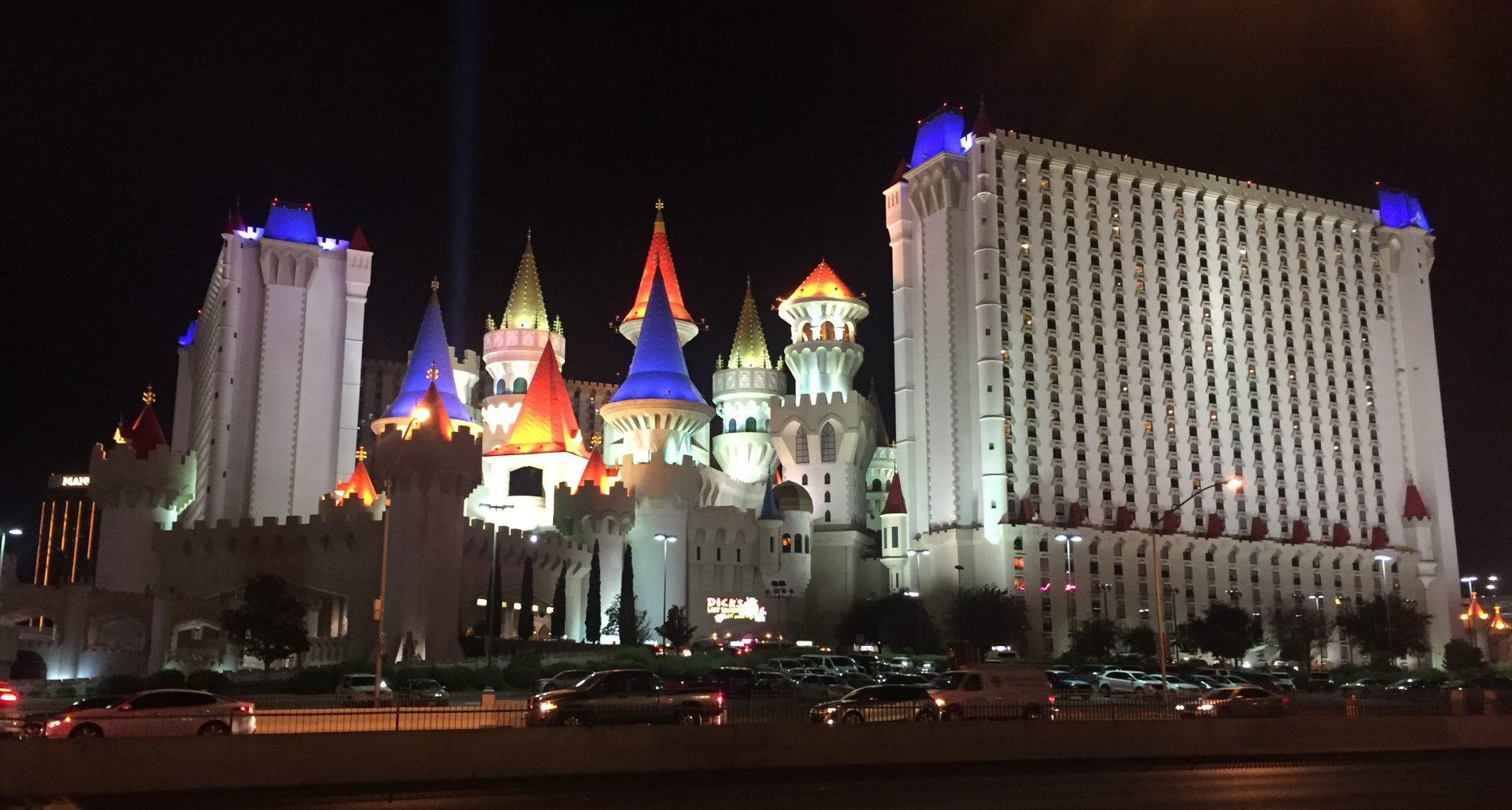 El hotel Excalibur. Consejos para elegir hotel en Las Vegas