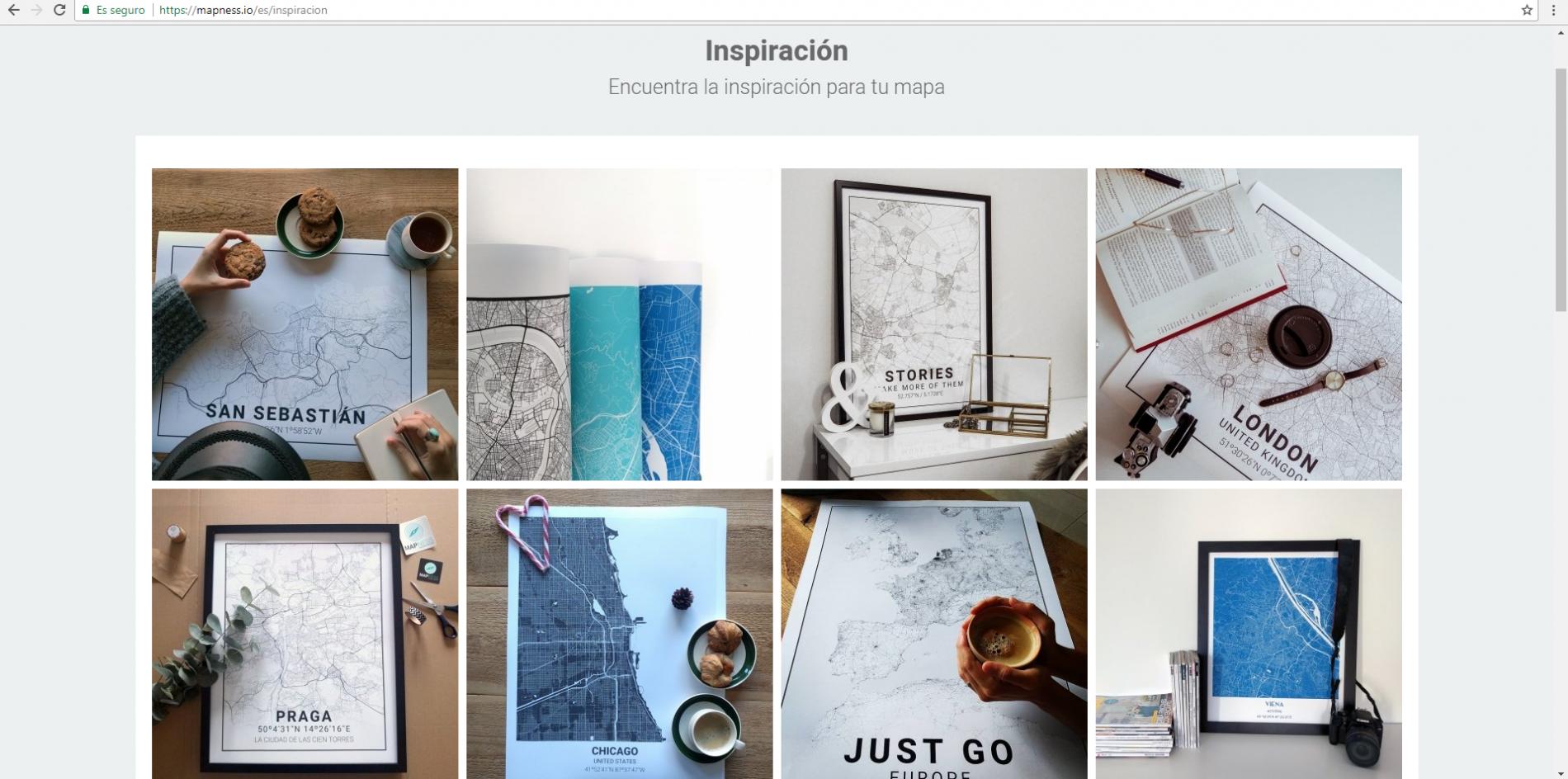 Página de inspiración/Mapness.io