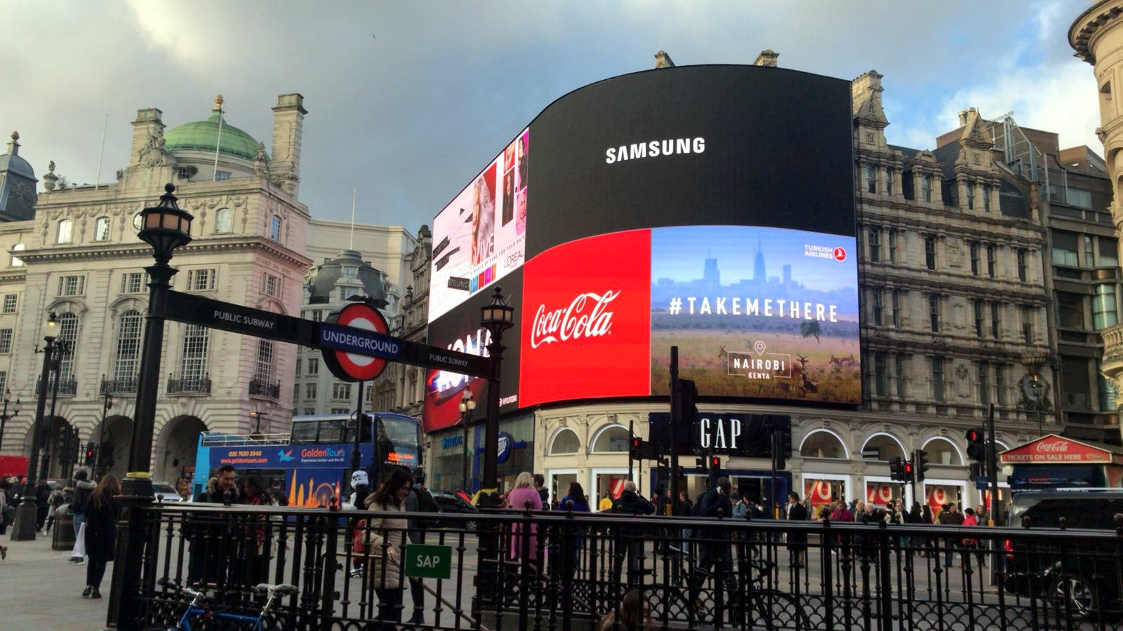 Picadilly Circus. Visitar Londres