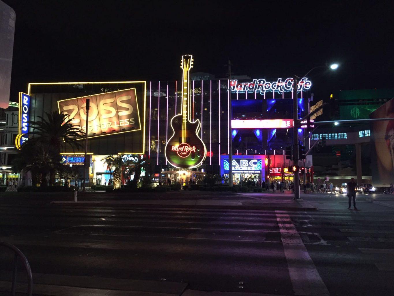 Hard Rock Cafe en el Strip. Las Vegas