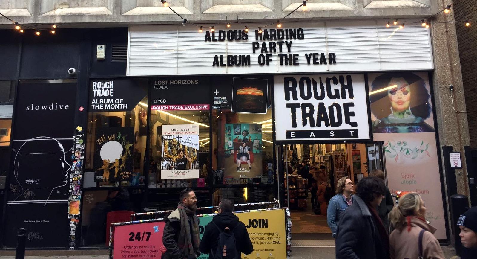Rough Trade East en Brick Lane. Londres