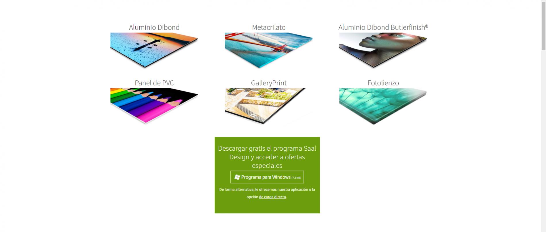 Tipos de materiales para tu cuadro personalizado