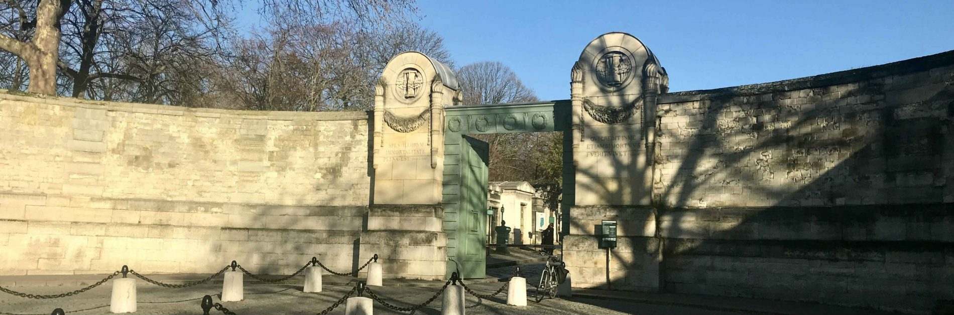 Entrada Principal. Cementerio père-lachaise