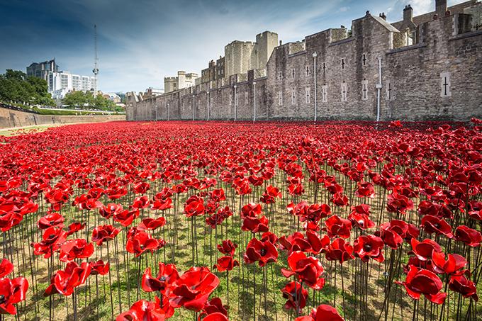 Homenaje en la Torre de Londres