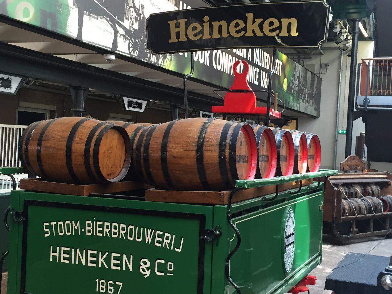 Fábrica de Heineken, Amsterdam. Liebster Awards.