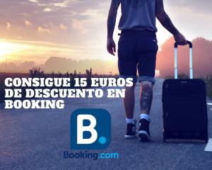 Descuento Booking. Descuentos viajeros