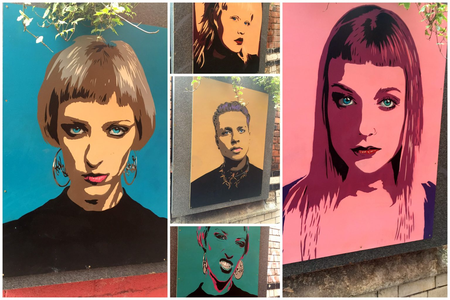 Retratos en el Love Lane