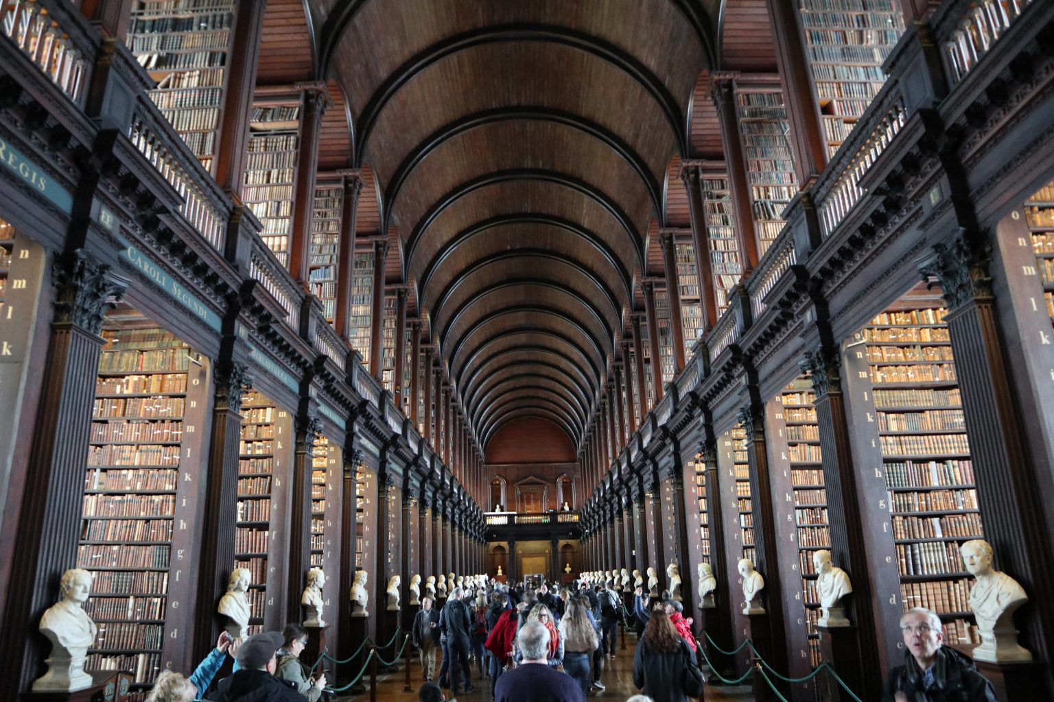 Long Room. Trinity College