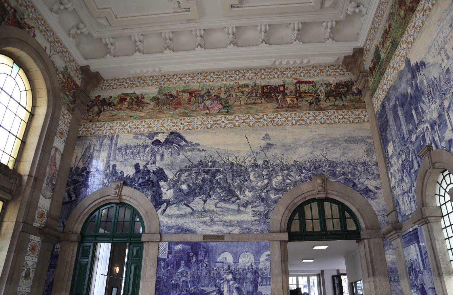 Estación de San Bento. Oporto