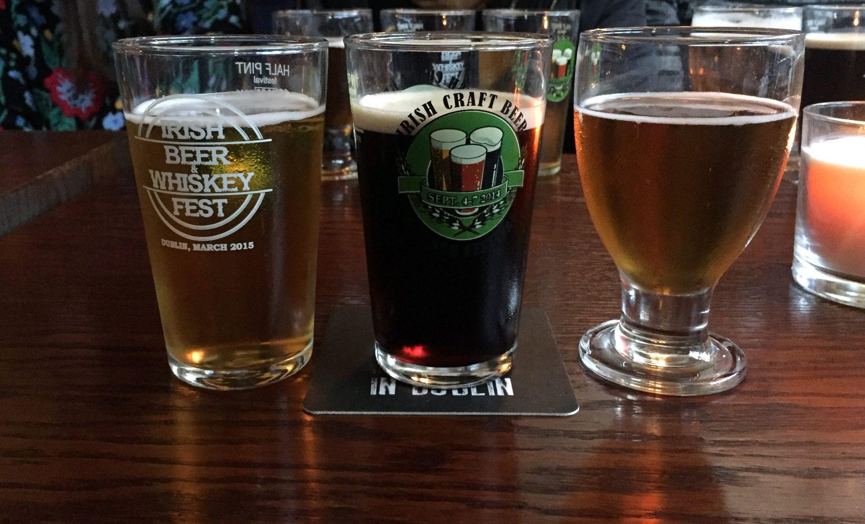 Cata de Cervezas artesanas. T O'Brennan's pub