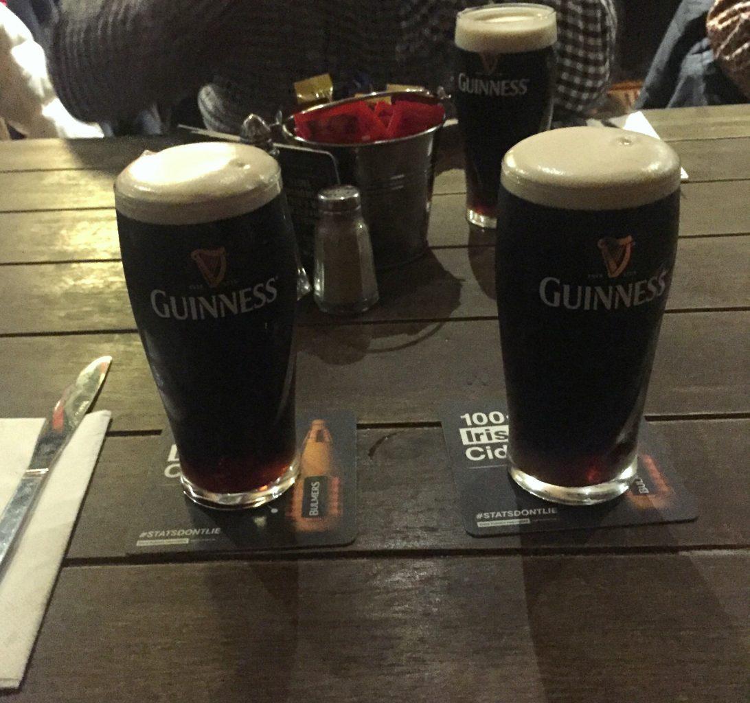 Cata de Guinness. Slattery's Pub