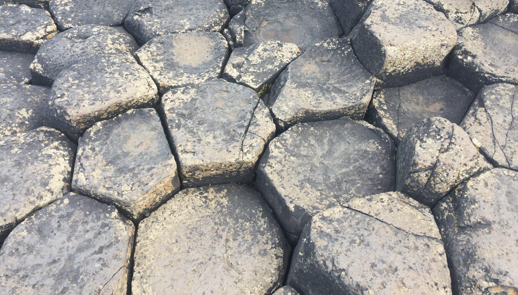 Las rocas. Calzada del Gigante