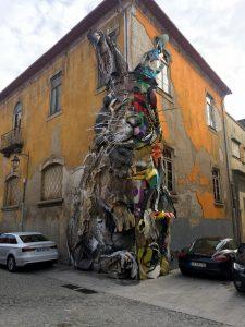 El conejo de Bordello II. Recorrido por el Streetart de oporto