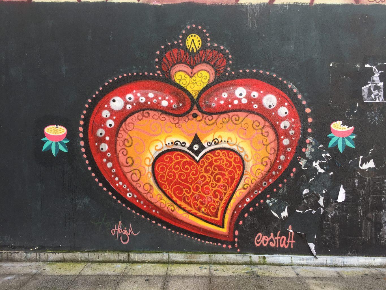 Coração de Viana do Castelo. Recorrido por el Streetart de oporto