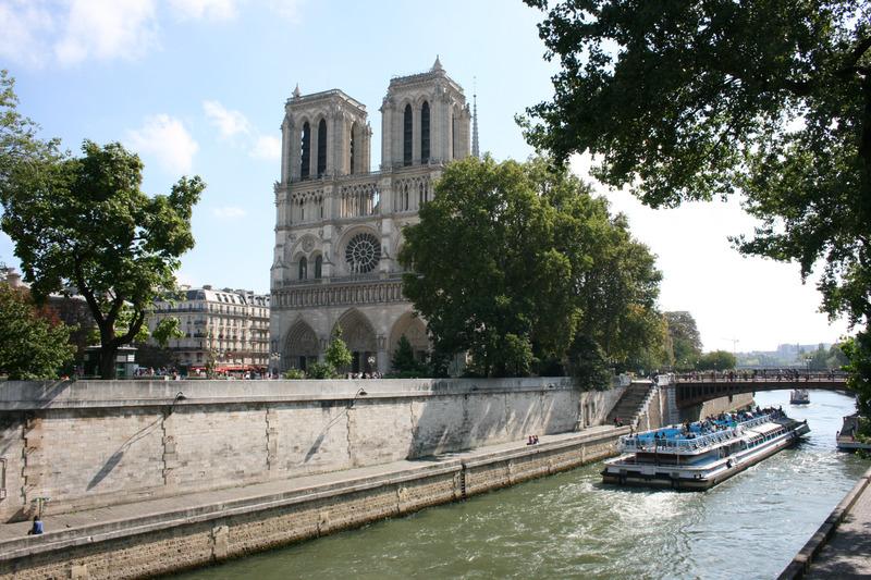Notre Dame y Bateaux. qué ver en París