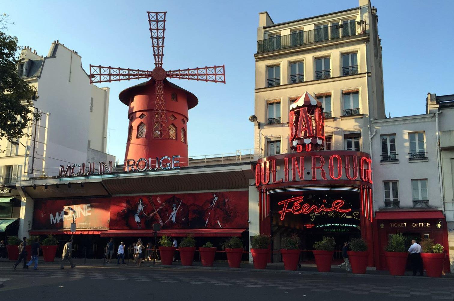 Moulin Rouge. qué ver en parís