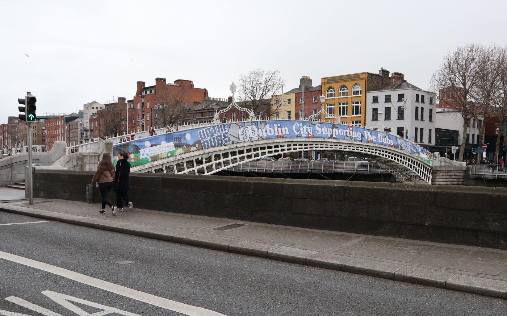 Ha penny Brigde. qué ver en Dublín