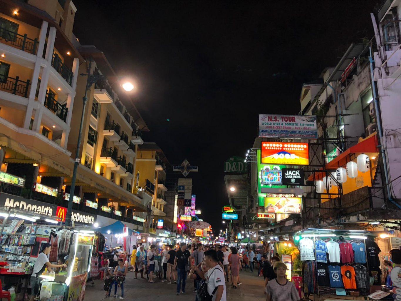 Kao San Road. qué ver en Bangkok