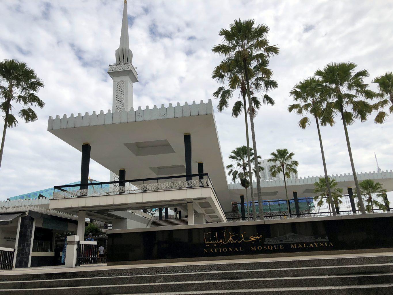 Masjid Negara. qué ver en kuala lumpur
