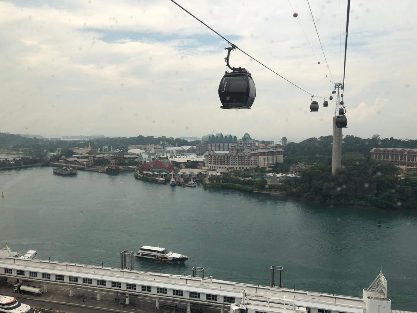 Sentosa Cable Car. one faber group sentosa