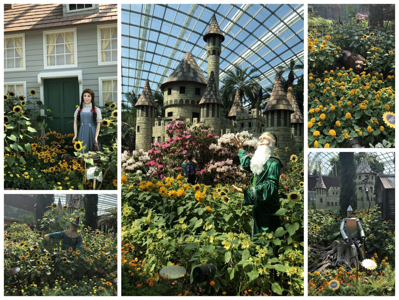 Mago de Oz en el Flower Dome