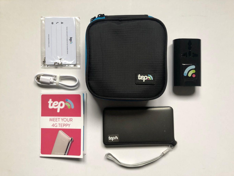Teppy y sus accesorios. Tep Wireless: El wifi portable para viajar por el mundo