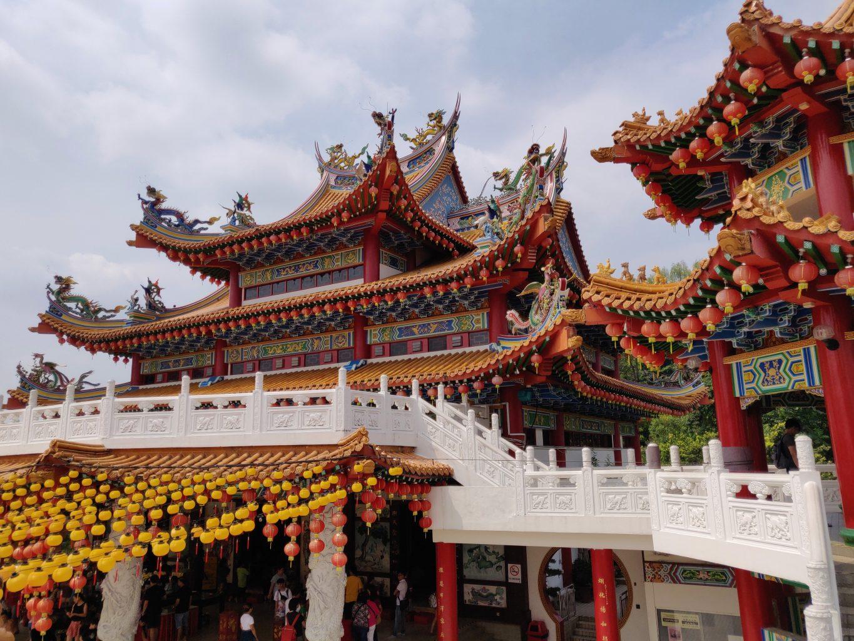 Thean Hou Temple. qué ver en Kuala Lumpur
