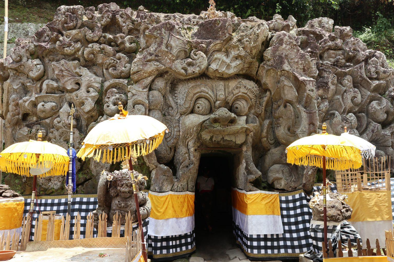 la Cueva del Elefante. Qué ver en Ubud