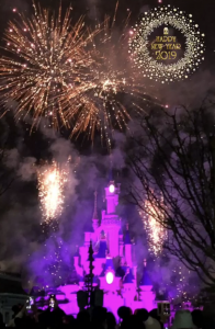 Fuegos artificiales Año Nuevo.