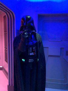Encuentro con Darth Vader. Fiesta de fin de año en Disneyland París