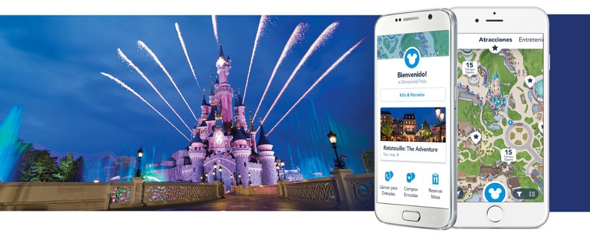 App Disneyland París. Consejos y trucos para aprovechar Disneyland París al máximo