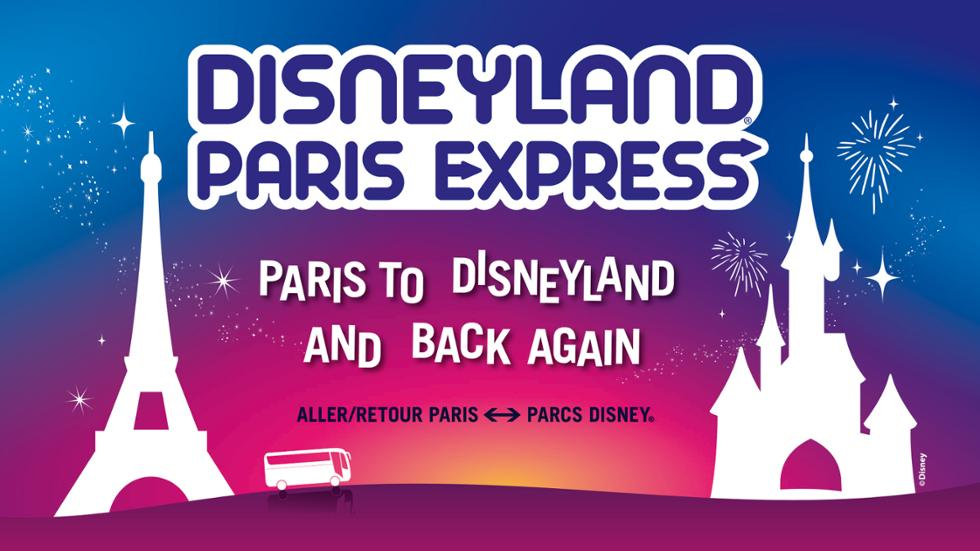 Disneyland Paris Express / Cómo ir desde el centro de París a a Disneyland