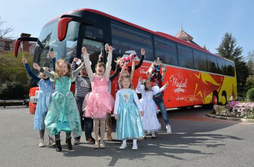 Magic Shuttle Bus. Cómo ir desde el centro de París a a Disneyland