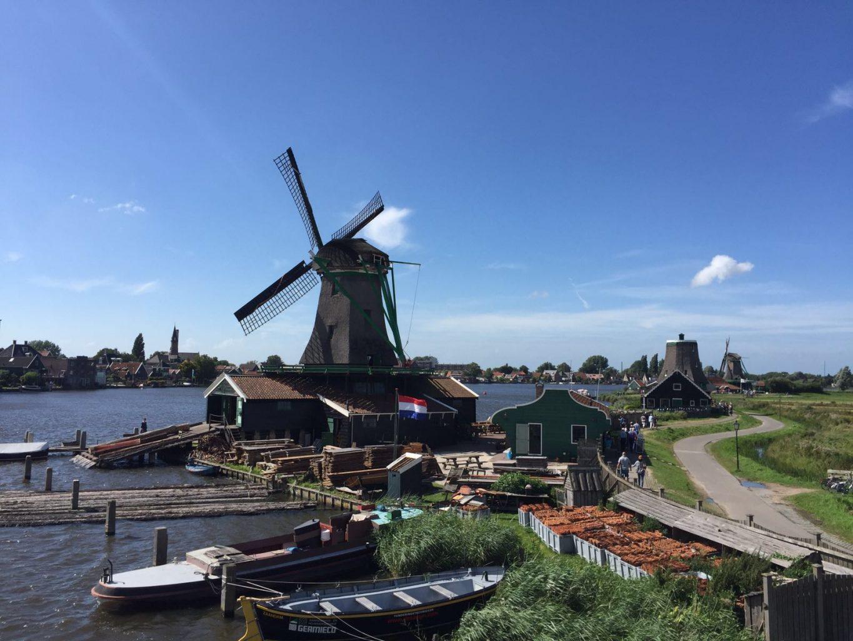 Molinos en Zaanse Schans. Qué ver y hacer en Ámsterdam