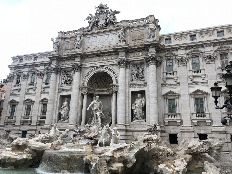 Fontana di Trevi. qué ver en Roma