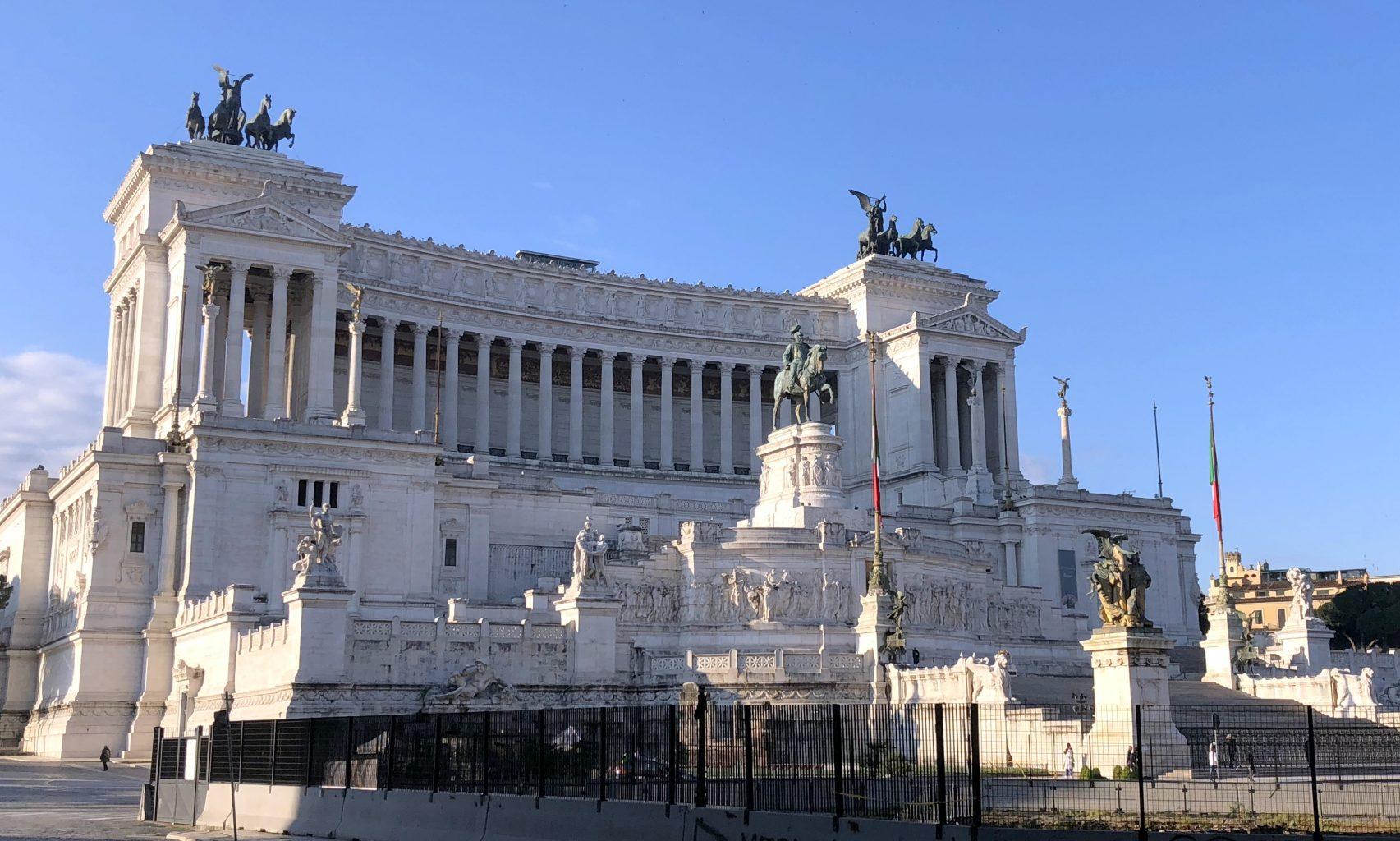 Monumento a Vittorio Emmanuele II. qué ver en Roma