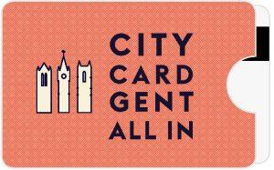 La CityCard Gent. CityCard Gent, la tarjeta turística para visitar Gante
