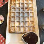 Goffre de Lizzie's Waffles. Qué ver y hacer en Brujas