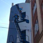 Fachada Tintín. Qué ver y hacer en Bruselas
