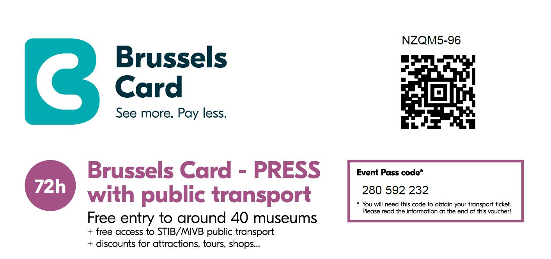 Nuestra Brussels Card en Pdf
