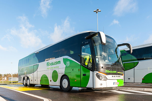 Autobús Flibco. Cómo ir desde el aeropuerto de Charleroi al centro de Bruselas